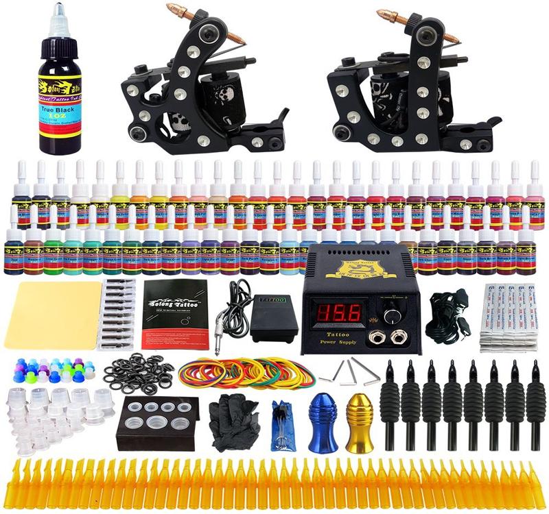 kit completo maquina de tatuar
